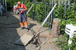 Camera inspectie, lokaliseren leidingen