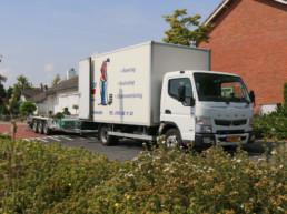 Lacor vrachtwagen voor bestrating, riolering en groenvoorziening
